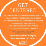 Get Centered Tour of the Sacramento LGBT Community Center à Sacramento le mar.  9 avril 2019 de 17h30 à 18h30 (Rencontres / Débats Gay, Lesbienne, Trans, Bi)