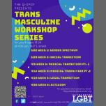 Trans Masculine Workshop Series à Sacramento le ven. 12 avril 2019 de 16h30 à 17h30 (Atelier Gay, Lesbienne, Trans, Bi)