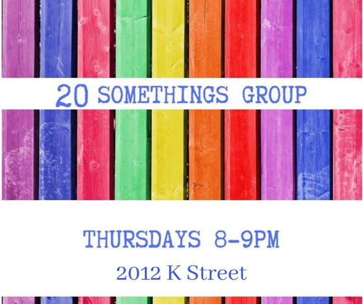 20 Somethings Group en Sacramento le jue  5 de diciembre de 2019 19:30-20:30 (Reuniones / Debates Gay, Lesbiana, Trans, Bi)