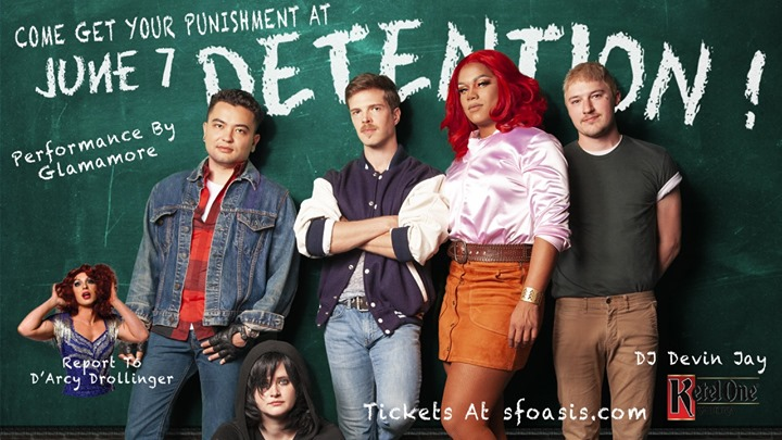 Detention! in San Francisco le Fr  7. Juni, 2019 22.00 bis 02.00 (After-Work Gay)