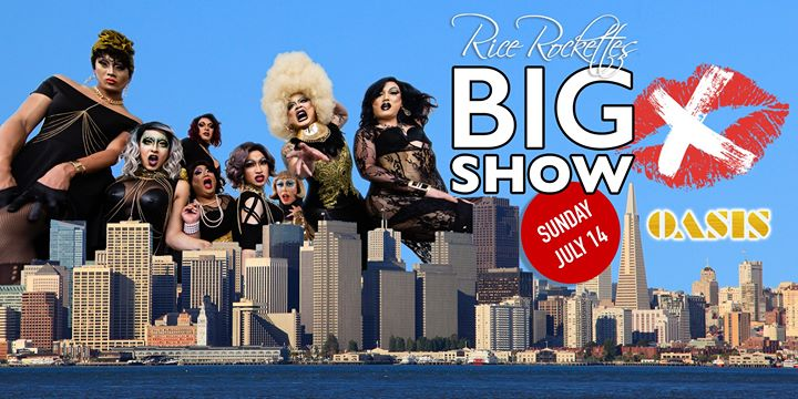 Rice Rockettes BIG SHOW - 10th Anniversary Celebration em San Francisco le dom, 14 julho 2019 15:00-18:00 (Show Gay)