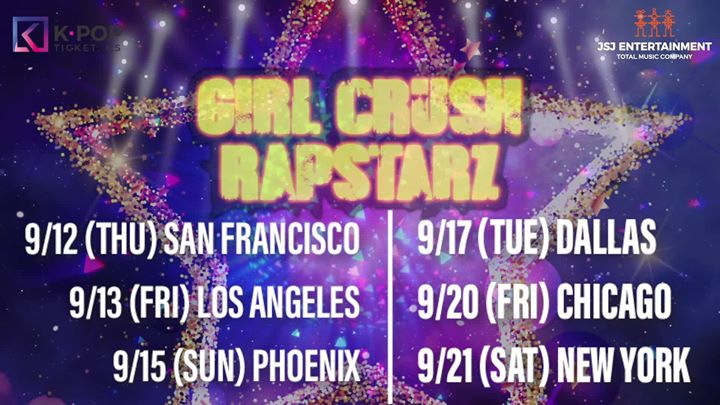 Girl Crush Rapstarz a San Francisco le gio 12 settembre 2019 19:00-21:00 (After-work Gay, Lesbica)