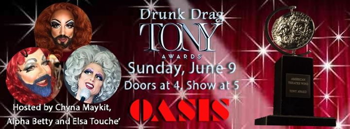 Drunk Drag Tony's em San Francisco le dom,  9 junho 2019 17:00-20:00 (After-Work Gay)