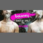 Baloney Is Back! en San Francisco del 30 de marzo al  7 de abril de 2018 (After-Work Gay)