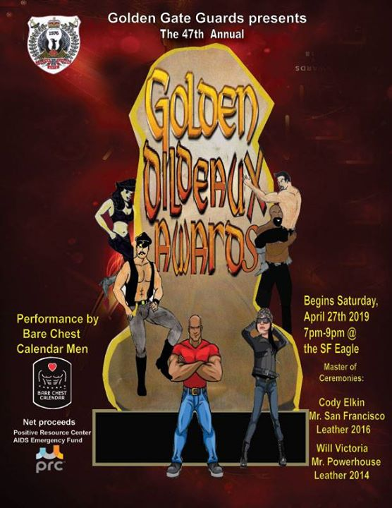 Golden Dildeaux Awards en San Francisco le sáb 27 de abril de 2019 19:00-21:00 (Clubbing Gay, Oso)