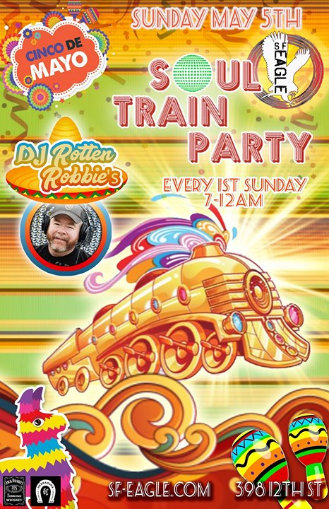 Rotten Robbies Soul Train Party in San Francisco le So  2. Juni, 2019 19.00 bis 00.00 (Clubbing Gay, Bear)