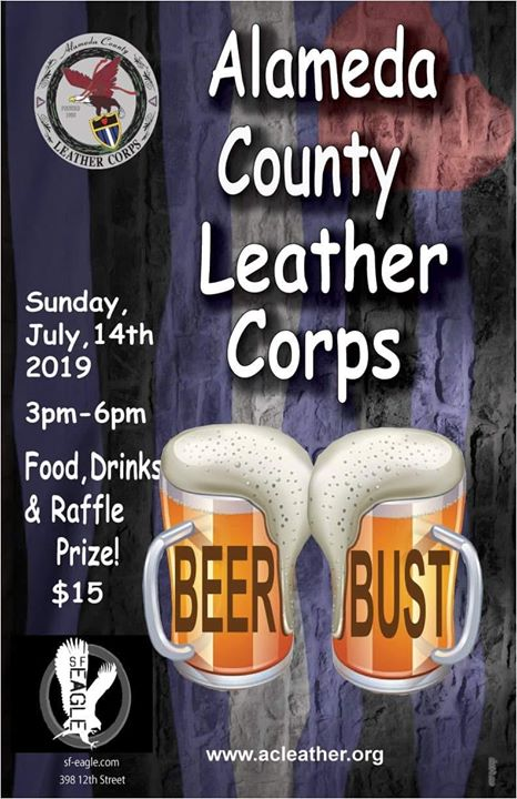 ACLC Sunday Beer Bust in San Francisco le So 14. Juli, 2019 15.00 bis 18.00 (After-Work Gay, Bear)