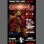 GROWLr Lumberjack Edition with DJ Phil B à San Francisco le ven. 22 février 2019 de 21h00 à 02h00 (Clubbing Gay, Bear)