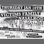 Victims Family, Nasalrod (Pdx), iAMogb at SF Eagle in San Francisco le Thu, January 10, 2019 from 09:00 pm to 11:59 pm (After-Work Gay, Bear)