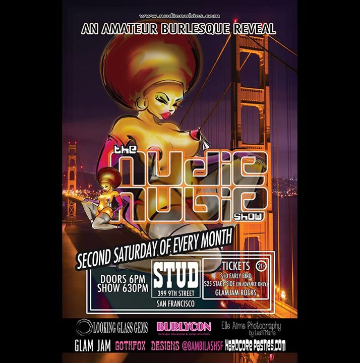 San Francisco11/9 - Nudie Nubie's SF :: Qtease at The Stud2019年 6月 9日,18:00(男同性恋 下班后的活动)