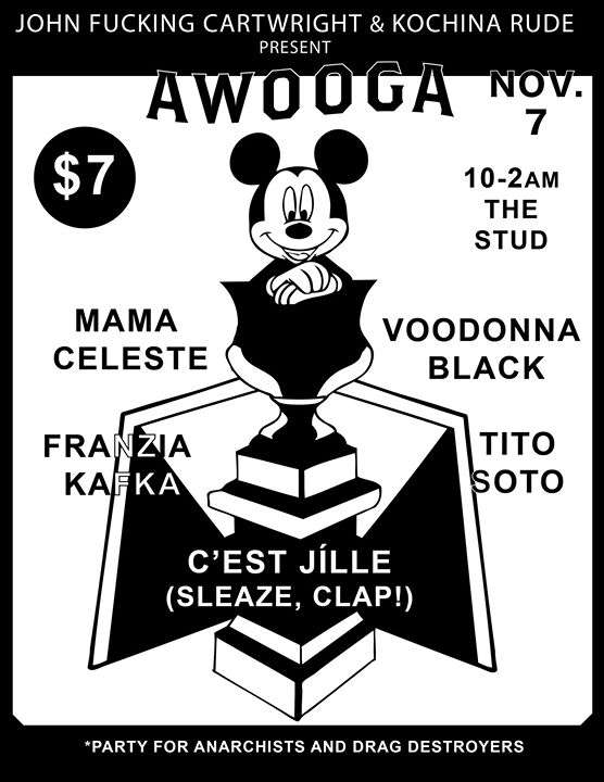 Awooga Nov 7 in San Francisco le Thu, November  7, 2019 from 09:00 pm to 02:00 am (Clubbing Gay)
