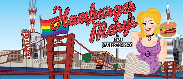 Fri/Sat. Drag Shows at Hamburger Mary's! à San Francisco le sam. 31 août 2019 de 19h00 à 22h00 (Spectacle Gay Friendly)
