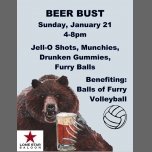 Balls of Furry Beer Bust in San Francisco le Sun, January 21, 2018 from 04:00 pm to 08:00 pm (Clubbing Gay, Bear)