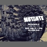 Mutante: Metalbox II in San Francisco le Wed, January 17, 2018 from 07:00 pm to 11:59 pm (Clubbing Gay, Bear)