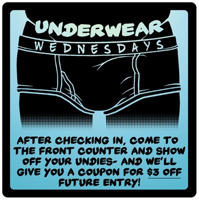 Underwear Wednesday en San Francisco le mié 25 de diciembre de 2019 12:00-00:00 (After-Work Gay)