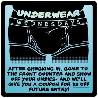 Underwear Wednesday à San Francisco le mer. 17 juillet 2019 de 12h00 à 00h00 (Sexe Gay)