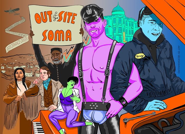 OUT of Site: SOMA à San Francisco le dim. 16 juin 2019 de 13h00 à 15h00 (Festival Gay, Lesbienne, Trans, Bi)