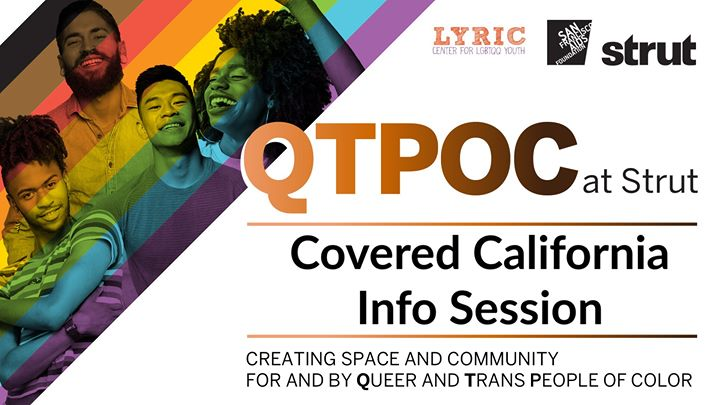 Covered California Info Session in San Francisco le Fr 22. November, 2019 15.00 bis 17.00 (Begegnungen Gay, Lesbierin, Transsexuell, Bi)