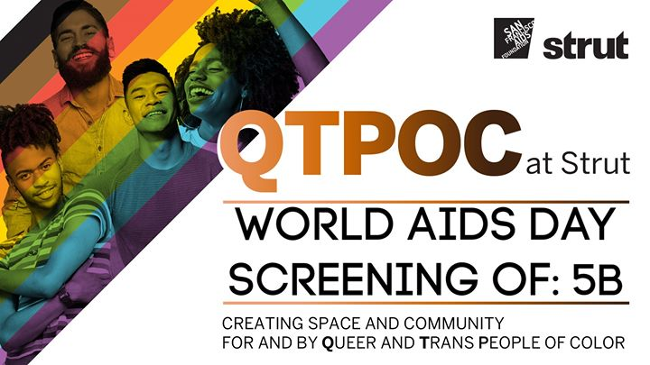 QTPOC at Strut Screens 5B in San Francisco le Mo  2. Dezember, 2019 18.00 bis 20.00 (After-Work Gay, Lesbierin, Transsexuell, Bi)