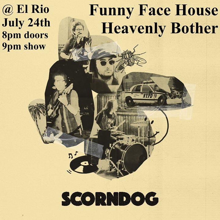 Funny Face House, Heavenly Bother & Scorn Dog à San Francisco le mer. 24 juillet 2019 de 21h00 à 00h00 (After-Work Gay)