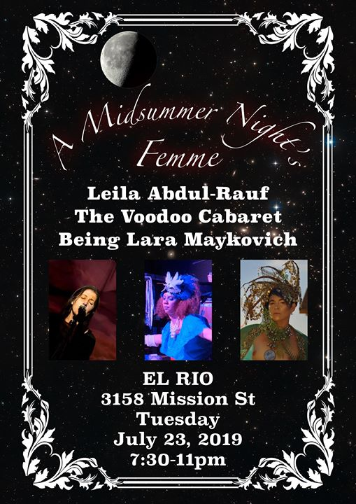 A MidSummer Night's Femme in San Francisco le Di 23. Juli, 2019 19.30 bis 23.00 (After-Work Gay)
