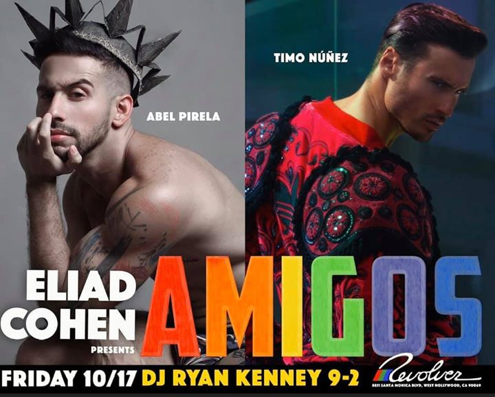 Amigos every Friday night at Revolver La in Los Angeles le Fri, November  1, 2019 from 09:00 pm to 02:00 am (Clubbing Gay)