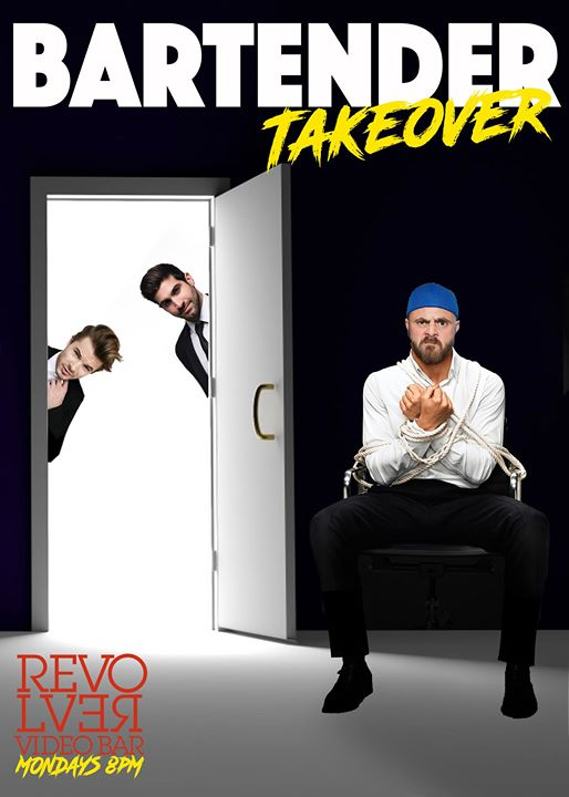 Bartender Takeover every Monday Night at Revolver Video Bar in Los Angeles le Mo 18. November, 2019 17.00 bis 00.00 (After-Work Gay)