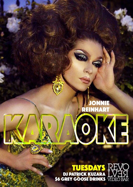 Karaoke with Jonnie Reinhart every Tuesday Night at Revolver em Los Angeles le ter, 26 novembro 2019 21:00-02:00 (Clubbing Gay)