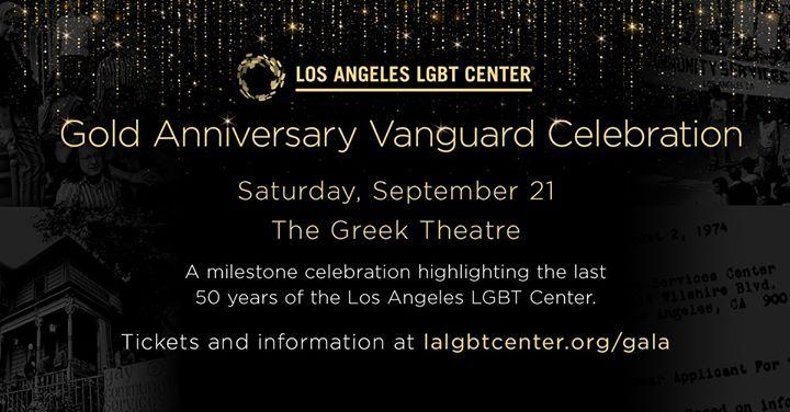 Los AngelesGold Anniversary Vanguard Celebration2019年 4月21日,16:00(男同性恋, 女同性恋 见面会/辩论)