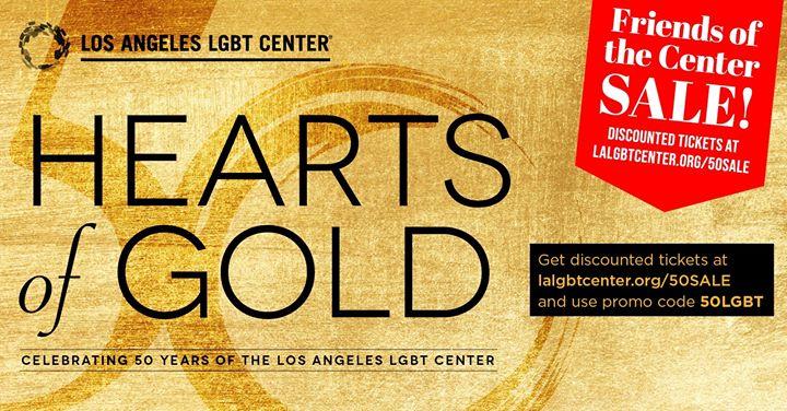 Los AngelesHearts of Gold Concert & Multimedia Extravaganza2019年 8月21日,20:00(男同性恋, 女同性恋 演出)