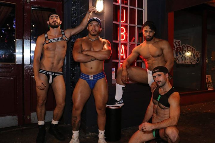 Los AngelesJock Saturday's at Fubar2019年10月30日,22:00(男同性恋 下班后的活动)