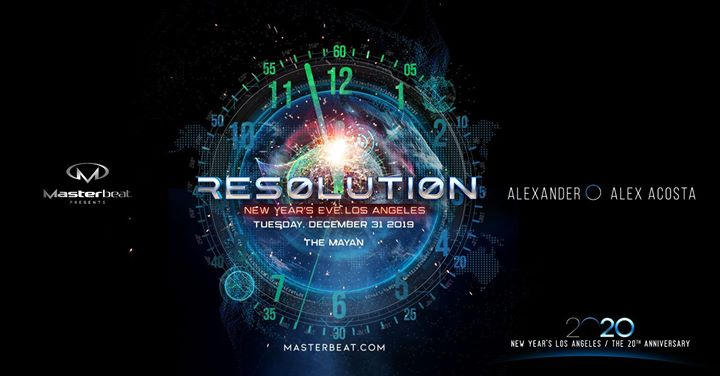 Resolution: Masterbeat 2020 New Year's Eve em Los Angeles le ter, 31 dezembro 2019 21:00-06:00 (Clubbing Gay Friendly)