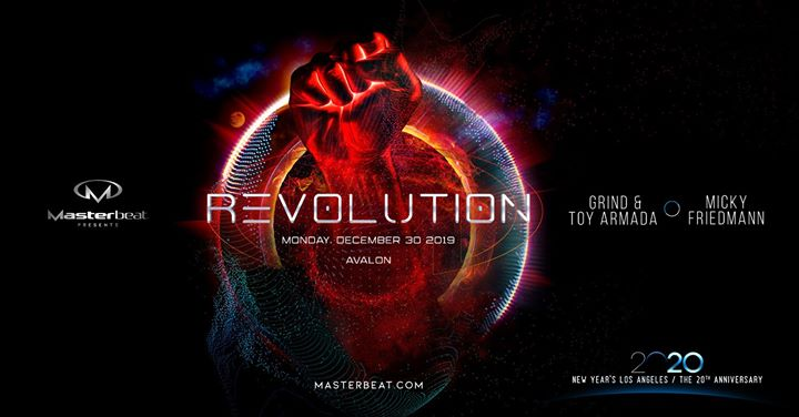 Revolution: Masterbeat 2020 Opening Party em Los Angeles le seg, 30 dezembro 2019 21:00-04:00 (Clubbing Gay Friendly)