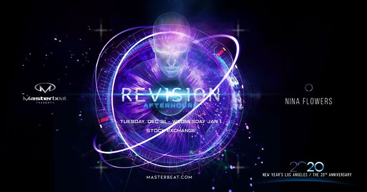 Revision: Masterbeat 2020 Afterhours em Los Angeles le qua,  1 janeiro 2020 04:00-11:00 (Clubbing Gay Friendly)