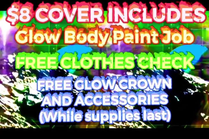 Glow Me: The Blacklight Bodypaint Underwear Party in Los Angeles le Fri, August  9, 2019 from 09:00 pm to 02:00 am (Clubbing Gay)