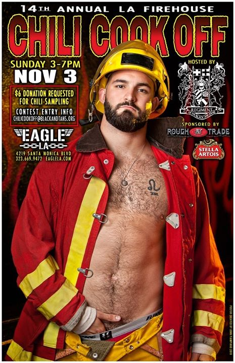 L.A. Firehouse Chili Cook Off 2019 in Los Angeles le So  3. November, 2019 15.00 bis 19.00 (After-Work Gay)