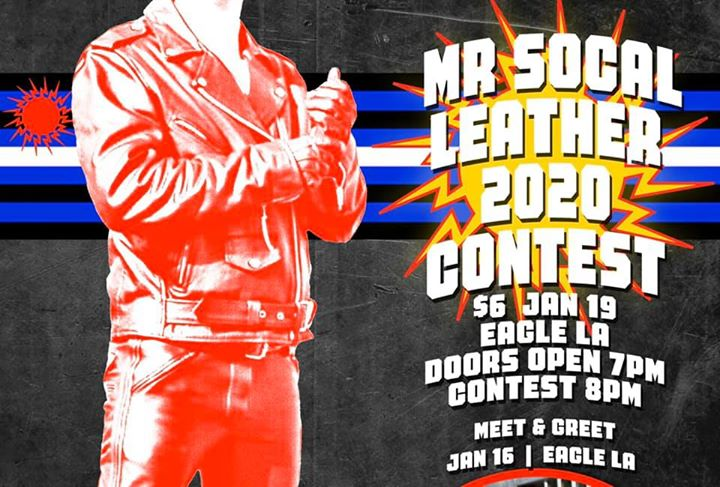 Mr SoCal Leather 2020 en Los Angeles le dom 19 de enero de 2020 20:00-23:00 (After-Work Gay)