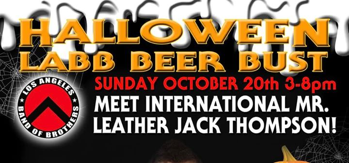 LABB Halloween BEER BUST! in Los Angeles le So 20. Oktober, 2019 15.00 bis 20.00 (After-Work Gay)