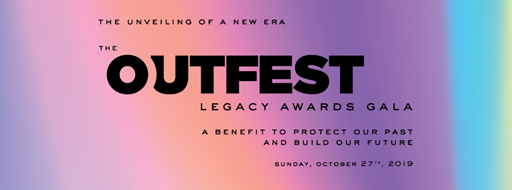 The Outfest Legacy Awards Gala in Los Angeles le So 27. Oktober, 2019 17.30 bis 23.00 (After-Work Gay, Lesbierin, Transsexuell, Bi)