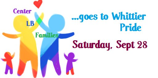 QFamilies Goes to Whittier Pride em Whittier le sáb, 28 setembro 2019 10:30-13:30 (After-Work Gay, Lesbica, Trans, Bi)