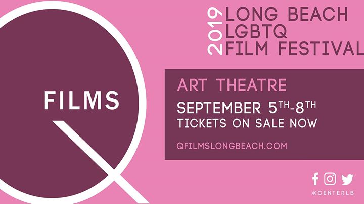 The Long Beach QFilm Festival em Long Beach de  5 para  8 de setembro de 2019 (Cinema Gay, Lesbica, Trans, Bi)