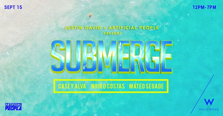 Submerge Pool Party in Los Angeles le Sun, September 15, 2019 from 12:00 pm to 07:00 pm (Clubbing Gay)