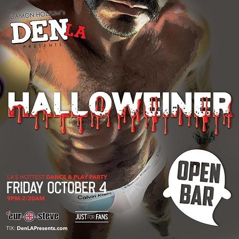 DenLA à Los Angeles le sam.  5 octobre 2019 de 21h00 à 02h30 (Clubbing Gay)
