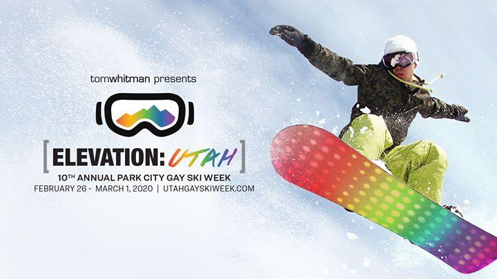 Elevation Utah 2020 in Park City from February 26 til March  1, 2020 (Festival Gay)