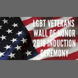 San DiegoLGBT Veterans Wall of Honor 2018 Induction Ceremony2018年 6月 8日,18:00(男同性恋, 女同性恋 见面会/辩论)