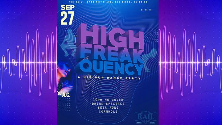 High Freakquency in San Diego le Fri, September 27, 2019 from 10:00 pm to 02:00 am (Clubbing Gay)