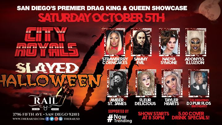 City Royals Presents: Slayed Halloween in San Diego le Sat, October  5, 2019 from 07:00 pm to 10:00 pm (After-Work Gay)