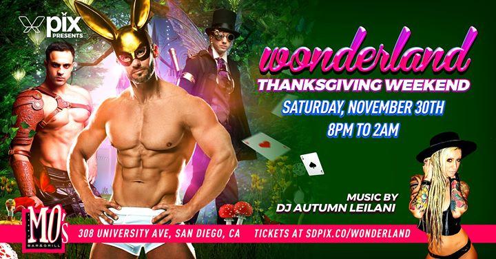 SDPIX presents Wonderland em San Diego le sáb, 30 novembro 2019 20:00-02:00 (Clubbing Gay)