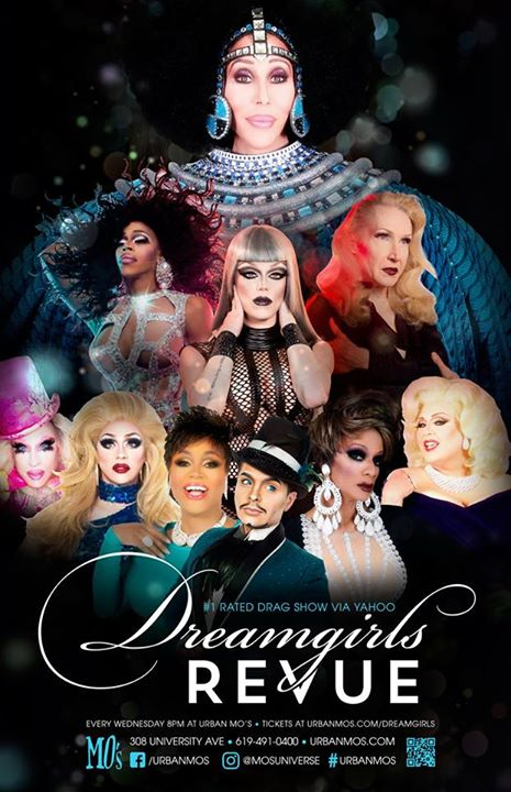 San DiegoDreamgirls Revue - MO's2019年 7月14日,19:00(男同性恋 下班后的活动)