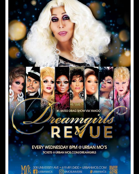 Dreamgirls Revue with Chad Michaels in San Diego le Wed, April 22, 2020 from 08:00 pm to 11:00 pm (Show Gay)